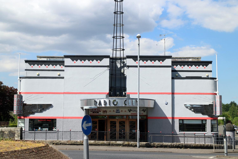 Radio City in Kilbirnie, photographed in 2019