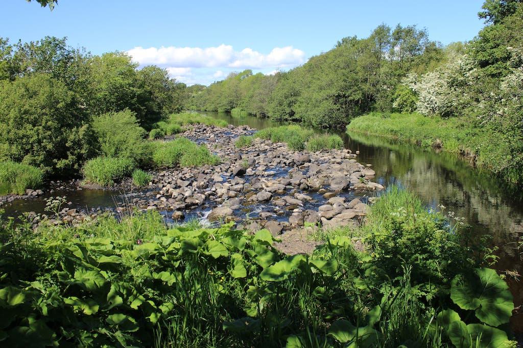 The River Garnock at Dalgarven Mill